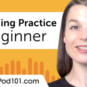 Beginner Listening Comprehension Practice for Spanish Conversations