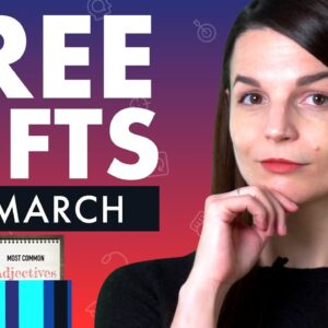 FREE Spanish Gifts of March 2021