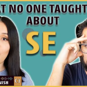 Learn Spanish ADVANCED grammar in 8 minutes: SE