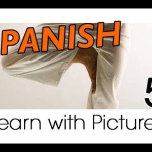 Learn Spanish - Spanish Body Parts Vocabulary