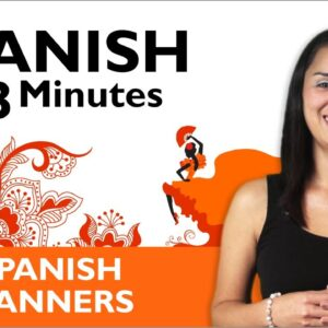 Learn Spanish - Thank You & You're Welcome in Spanish