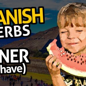 """Learn Spanish Verbs with OUINOâ""""¢: Lesson #7 Tener (to have)"""