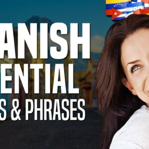 Learn Spanish Vocabulary: Survival Words and Phrases - Lesson #1 | OUINO.com