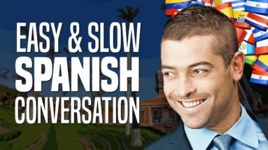 Learn Spanish with Conversations: #1 - Meeting a Stranger   OUINO.com