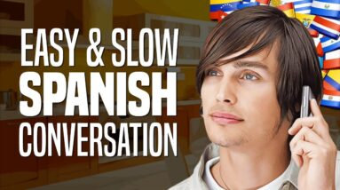 Learn Spanish with Conversations: #4 - The Phone Call (informal) | OUINO.com