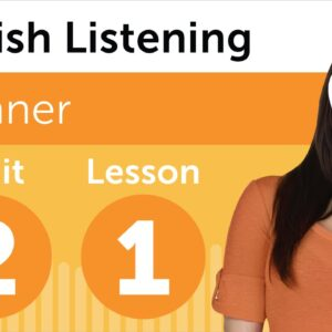 Spanish Listening Practice - Getting Mexican Spanish Directions