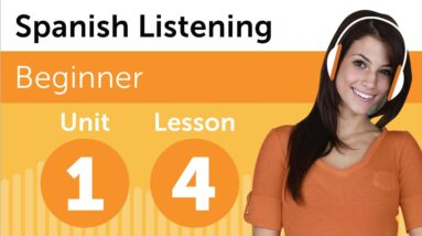 Spanish Listening Practice - Listening to a Mexican Forecast
