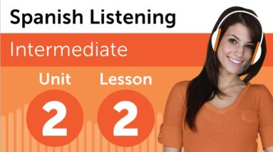 Spanish Listening Practice - Reporting a Lost Item in Mexican Spanish