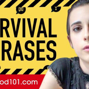 All Survival Phrases You Need in Spanish! Learn Spanish in 70 Minutes!