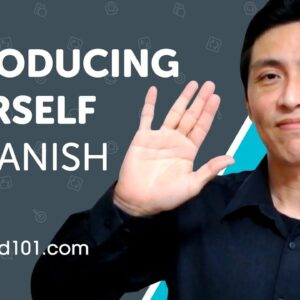 Learn How to Introduce Yourself in Spanish | Can Do #1