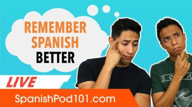 Active Recall: How to Remember Spanish Better!