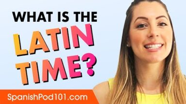 What is the 'Latin time' and how does it work?
