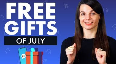 FREE Spanish Gifts of July 2021
