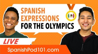 Olympics Words and Phrases in Spanish