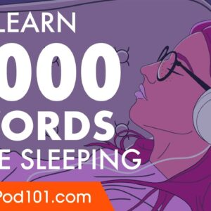 Spanish Conversation: Learn while you Sleep with 1000 words