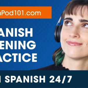 Learn Spanish Live 24/7 🔴 Spanish Listening Practice - Daily Conversations ✔