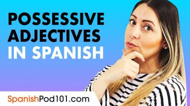 How to use Possessive Adjectives in Spanish ('su' and 'sus')